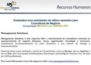 Consultoria de Negócio - Engenharia Informática 1