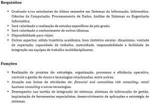 Consultoria de Negócio - Engenharia Informática 2